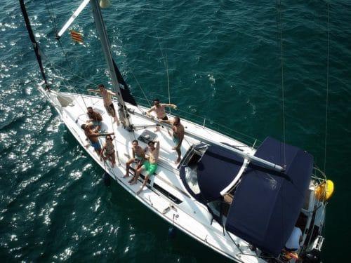 alquiler velero Barcelona