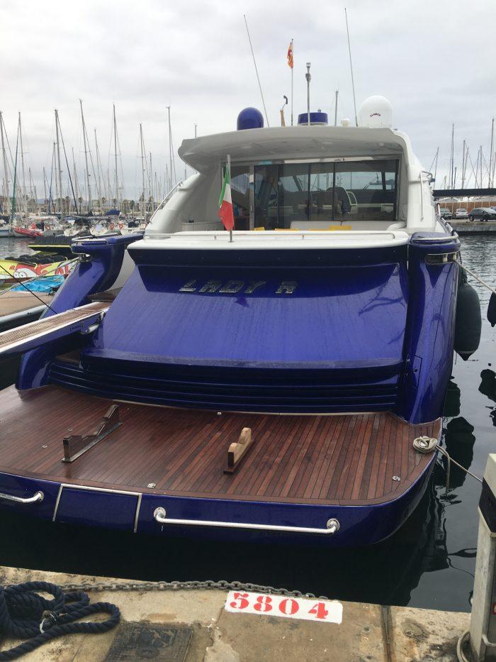 luxury yacht port olimpic