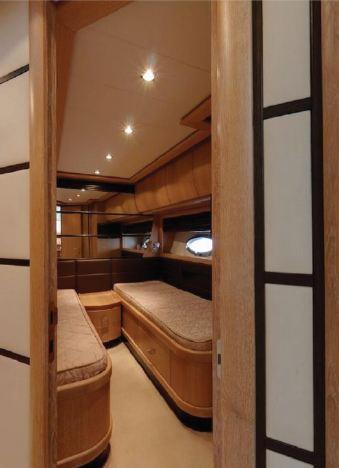 beds luxury yacht