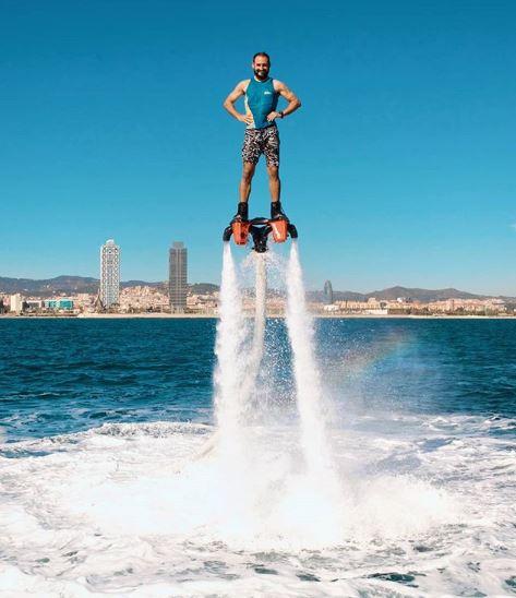 flyboard en barcelona