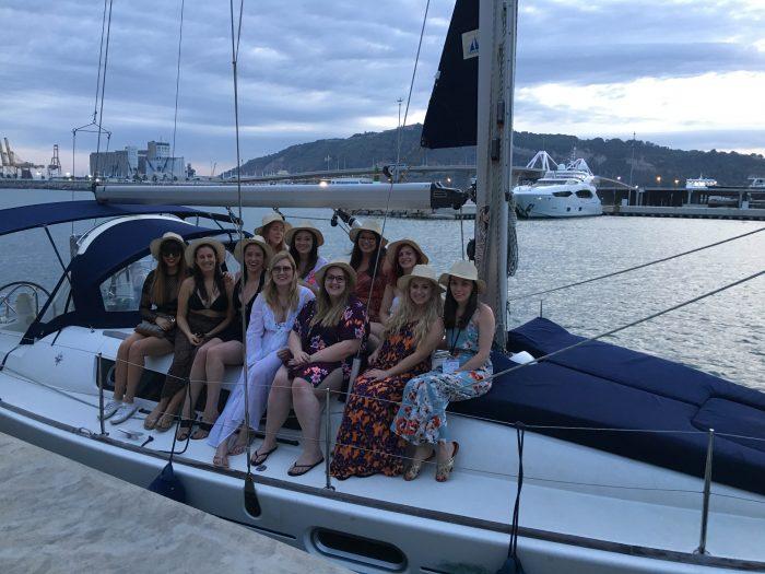 hen party boat trip