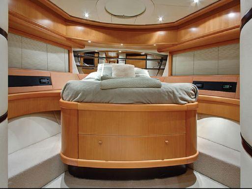 luxury yacht bed