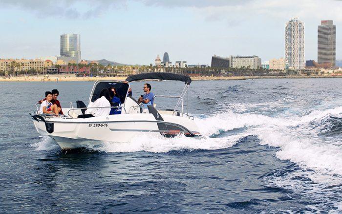 speed boat rental barcelona