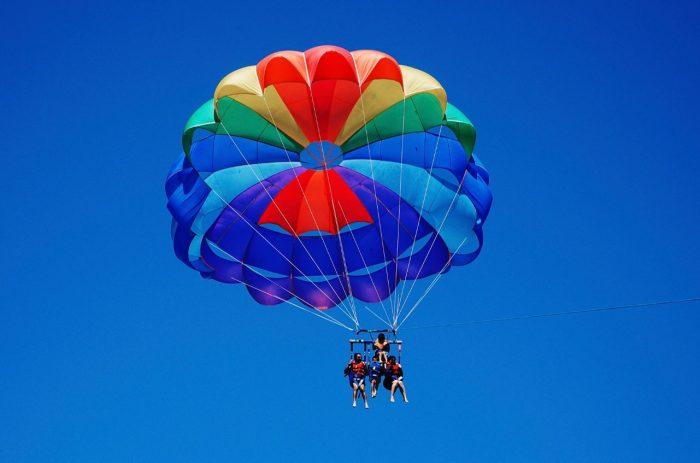paracaidas barcelona