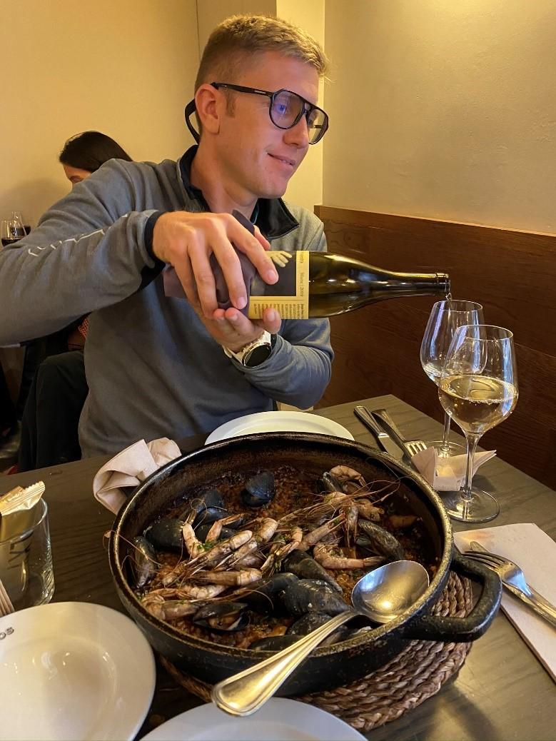 Paella de marisco de Can Ros