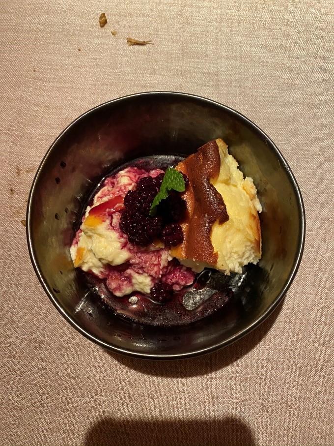 Pastel de queso del racó de l'agüir
